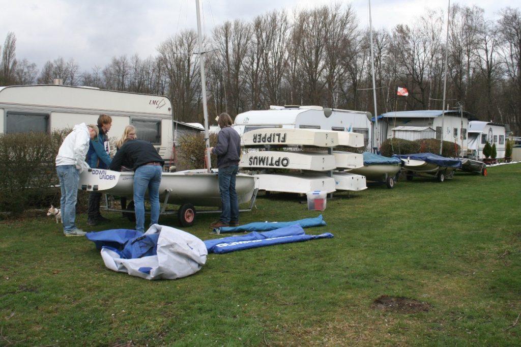 Aufbau der Jugendboote